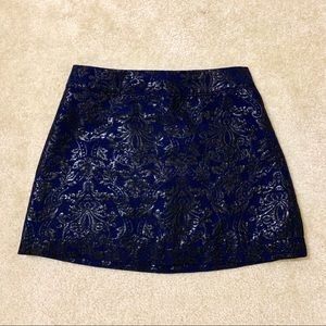 NWOT Printed A-Line Skirt